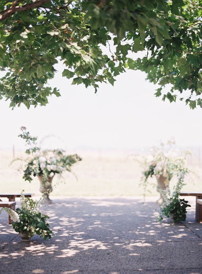 Blue & White Garden Wedding at Carneros Inn by Jen Huang Photo - 027