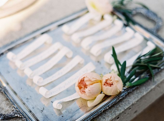 Blue & White Garden Wedding at Carneros Inn by Jen Huang Photo - 045