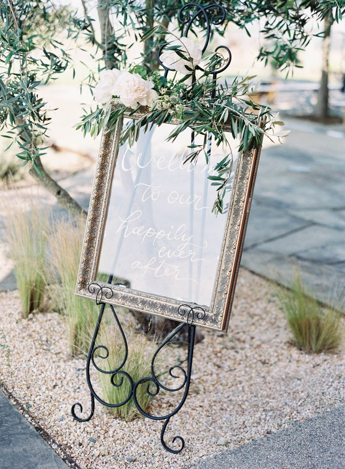 Blue & White Garden Wedding at Carneros Inn by Jen Huang Photo - 047