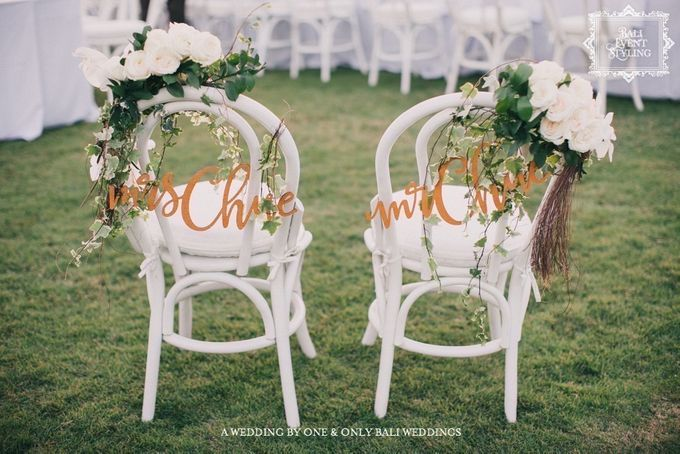 Ash & Coco Wedding by Bali Event Hire - 003
