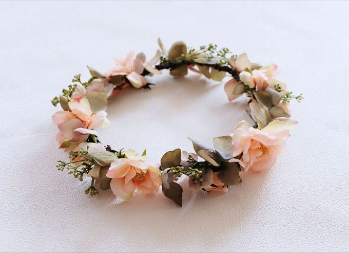 Natural Flower Crown by Cup Of Love Design Studio - 001