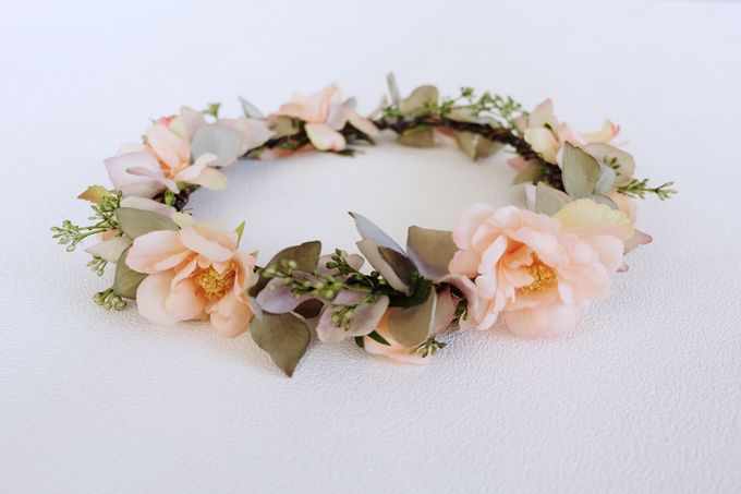 Natural Flower Crown by Cup Of Love Design Studio - 002