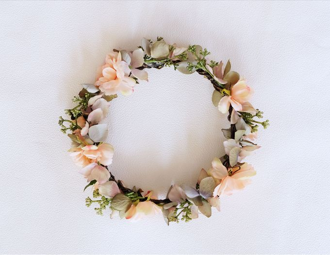 Natural Flower Crown by Cup Of Love Design Studio - 003