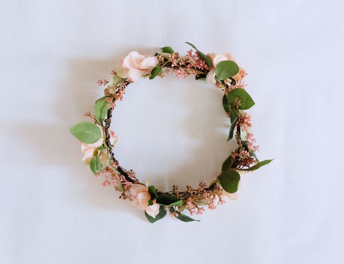 Natural Flower Crown by Cup Of Love Design Studio - 005