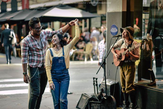 Neshia & Agra Melbourne Prewedding Day II by Thepotomoto Photography - 029