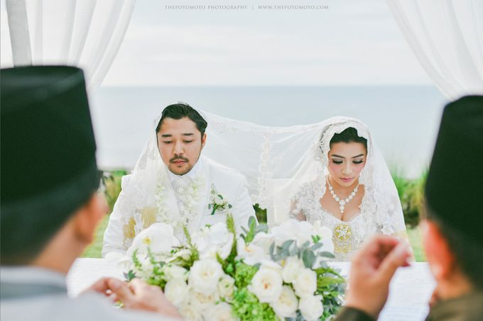 Ayu Hastari & Ryoichi Hutomo Wedding Day by Thepotomoto Photography - 014