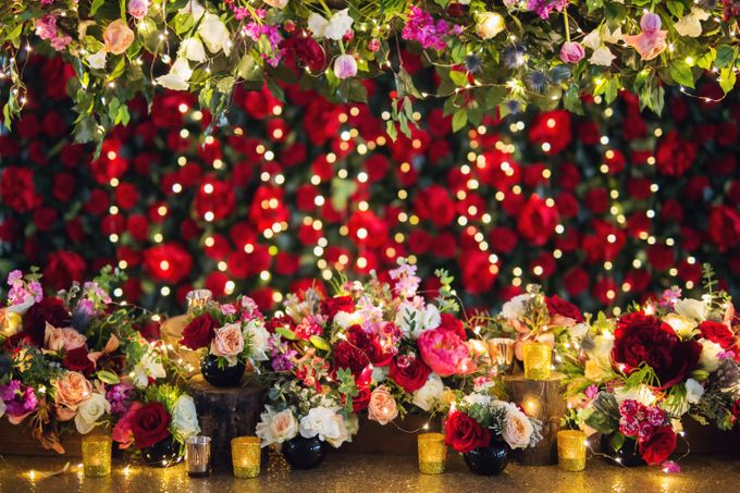 Florals x Fairy Lights by Midnight Sparks - 001
