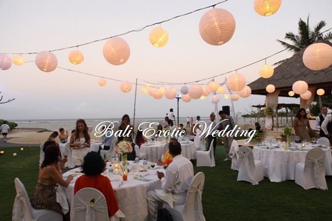 Wedding Dinner by Bali Exotic Wedding Organizer - 010