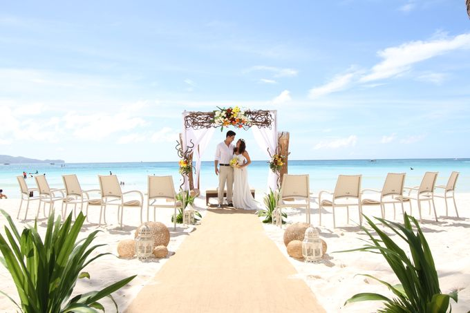 Beach Wedding at The District Boracay by The District Boracay - 004