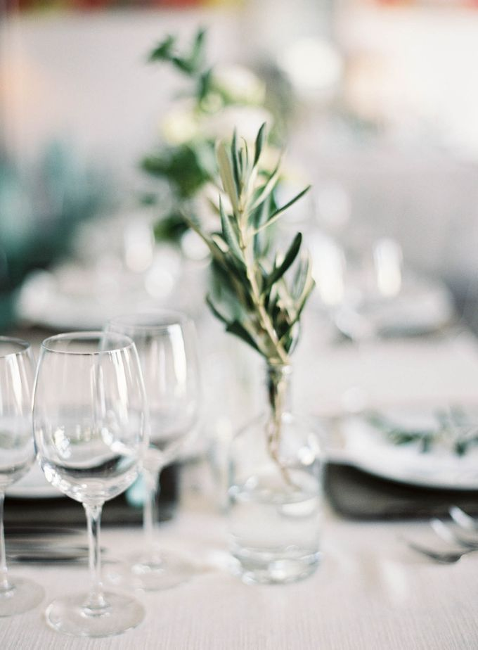 Classic and Beautiful Olive Green and Sea Blue Wedding in Santorini, Greece by Jen Huang Photo - 046