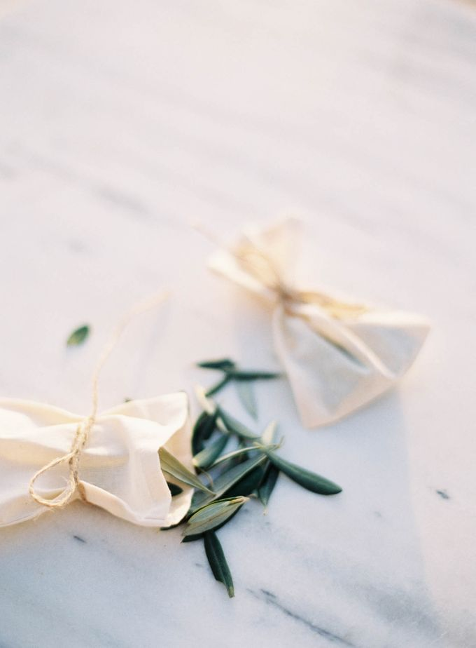 Classic and Beautiful Olive Green and Sea Blue Wedding in Santorini, Greece by Jen Huang Photo - 048