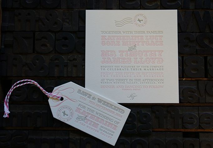 Katherine & Tim by D&d Letterpress - 004