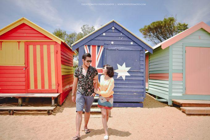 Neshia & Agra Melbourne Prewedding Day I by Thepotomoto Photography - 007