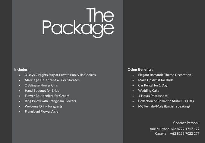 Nagisa Bali Wedding Pricelist by Nagisa Bali - 002