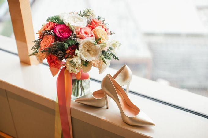Olive & Nico Tie The Knot by Inside The Knot - 001