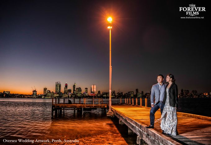 Oversea Wedding Artwork - Perth Australia by The Forever Films - 003