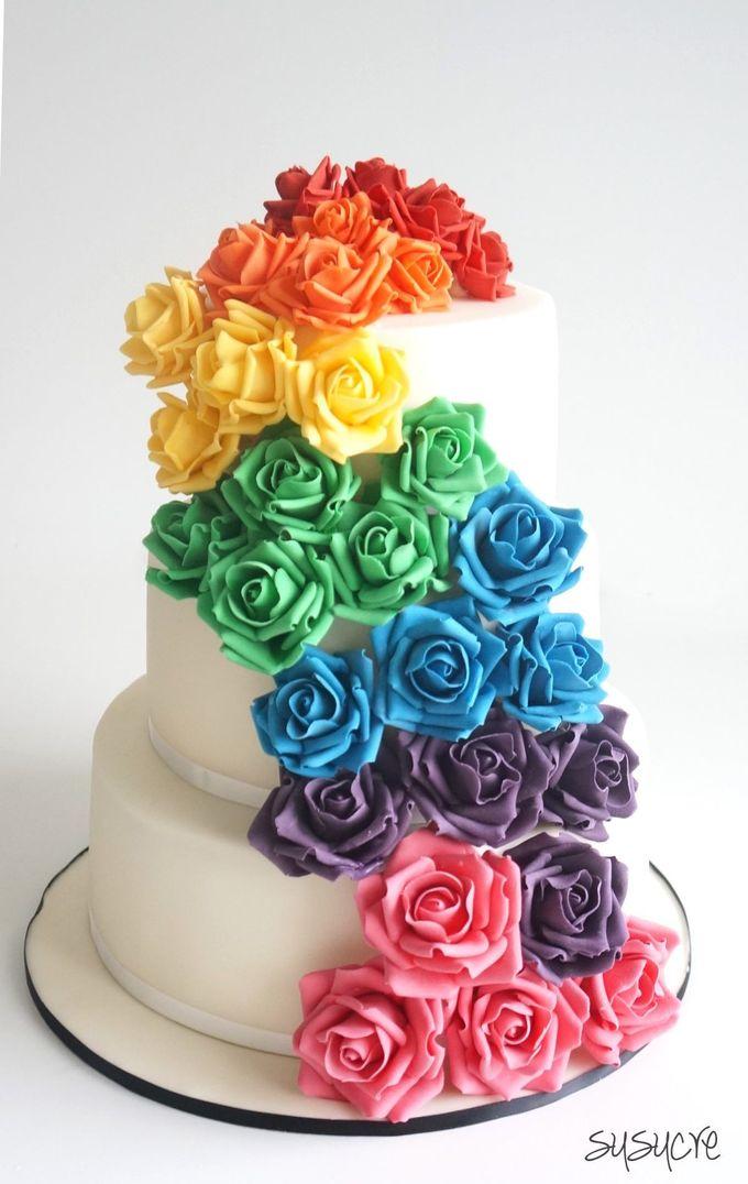 Three Tier Wedding Cakes By Susucre Pte Ltd Bridestory Com