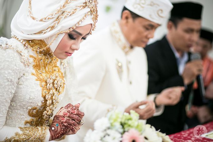 Noven & Reza Traditional Wedding Palembang by #thephotoworks - 007