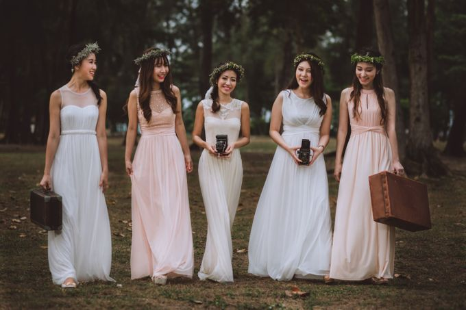 Bridesmaids Styled shoot by Le voeu (Bridesmaids) - 003