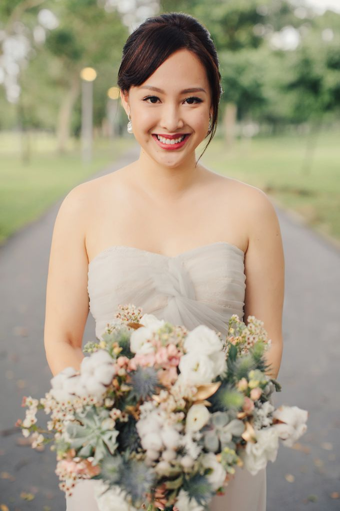 Smile, For you are most beautiful by Cleo Chang - Makeup . Hair - 008