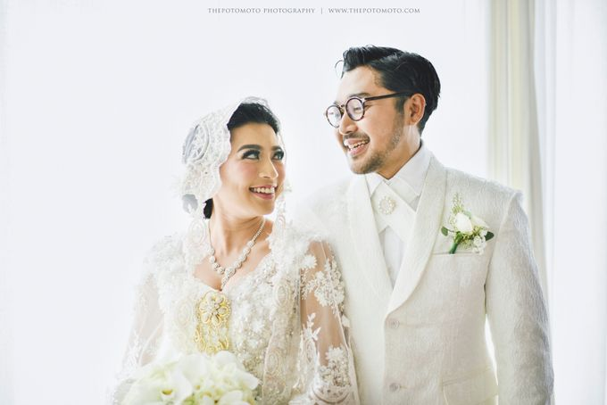 Ayu Hastari & Ryoichi Hutomo Wedding Day by Thepotomoto Photography - 017