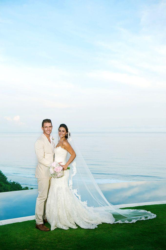 Wedding @ Semara Luxury Villa by THE UNGASAN CLIFFTOP RESORT BALI  - 011