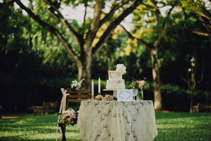 Beauty and the Beast Garden Wedding by Endear Weddings - 003