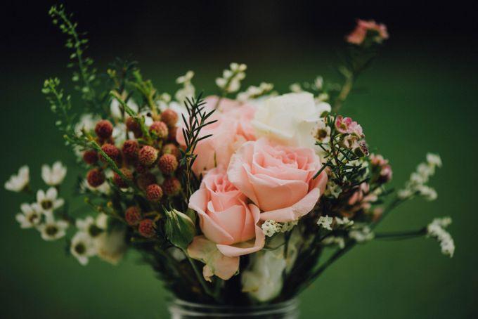 Beauty and the Beast Garden Wedding by Endear Weddings - 004
