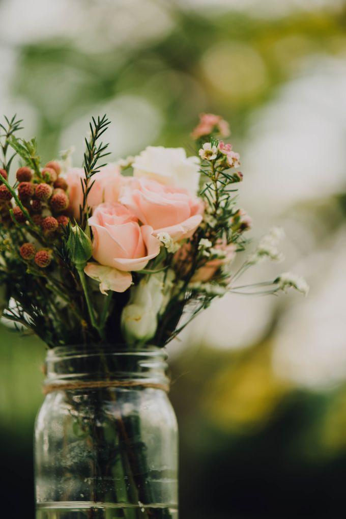 Beauty and the Beast Garden Wedding by Endear Weddings - 007