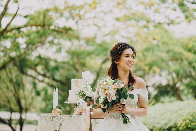 Beauty and the Beast Garden Wedding by Endear Weddings - 008