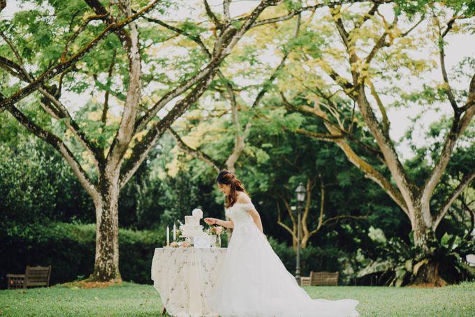 Beauty and the Beast Garden Wedding by Endear Weddings - 014
