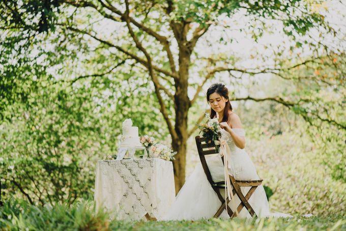 Beauty and the Beast Garden Wedding by Endear Weddings - 018