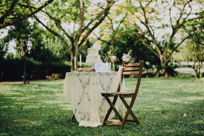 Beauty and the Beast Garden Wedding by Endear Weddings - 022