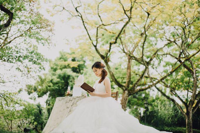 Beauty and the Beast Garden Wedding by Endear Weddings - 025