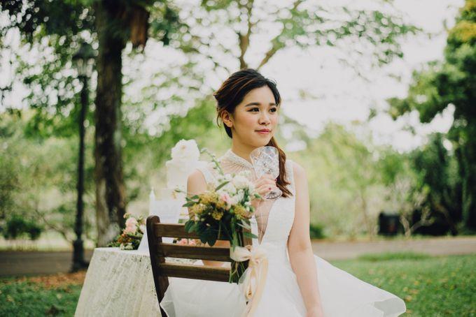Beauty and the Beast Garden Wedding by Endear Weddings - 026