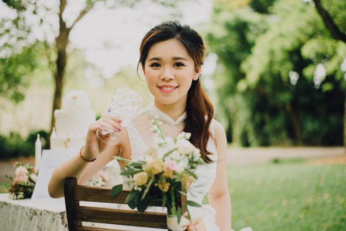 Beauty and the Beast Garden Wedding by Endear Weddings - 027