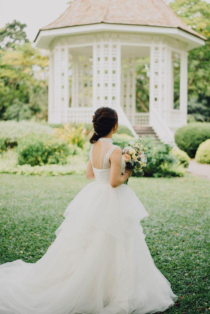 Beauty and the Beast Garden Wedding by Endear Weddings - 029