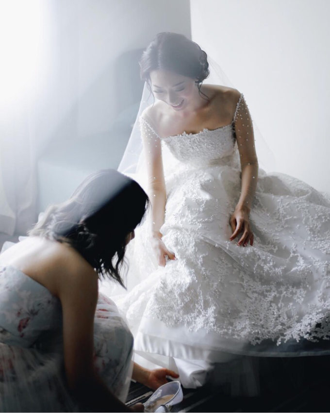 Budi & Agustine Holy Matrimony by Elsie Chrysila Brides - 002