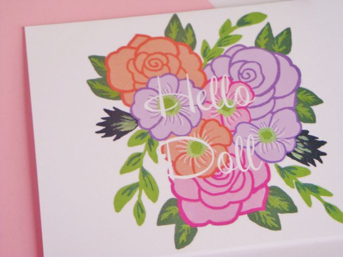 wedding note cards by Fancy Paperie - 002