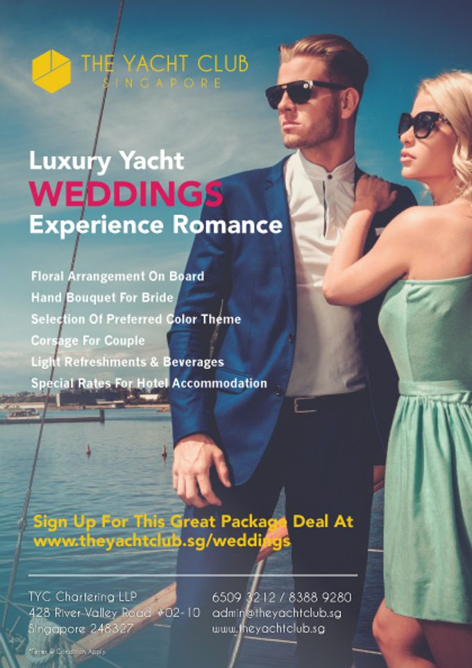 Wedding Packages by The Yacht Club - 001