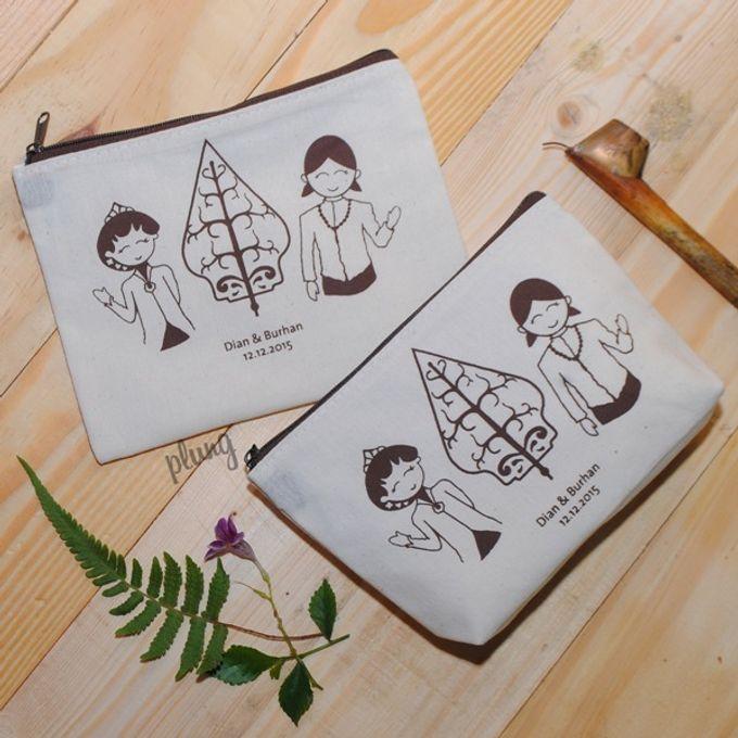 Souvenir Pouch Jawa by Plung Creativo - 006
