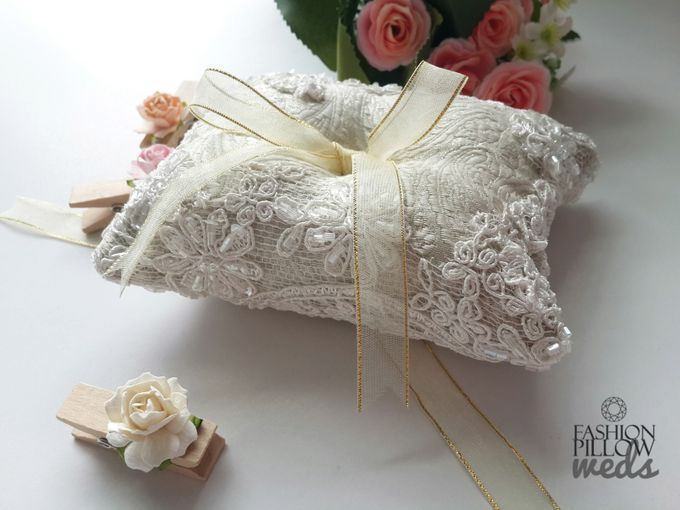 add to board custom wedding ring pillow by fashion pillow weds 002 - Wedding Ring Pillow