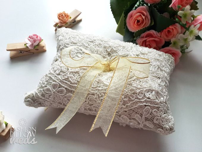 add to board custom wedding ring pillow by fashion pillow weds 003 - Wedding Ring Pillow