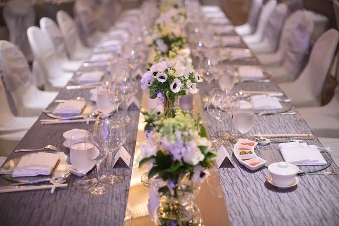 Decoration - Long tables set-up by Spellbound Weddings - 002
