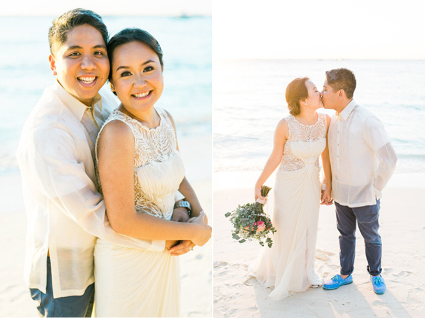 A Colorful Travel-Themed Wedding in Boracay, Philippines - Bridestory Blog